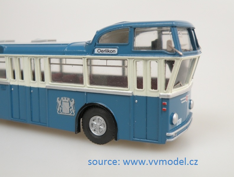 VBZ Hochlenker Giraff HO scale model bus