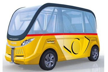 driverless bus sion