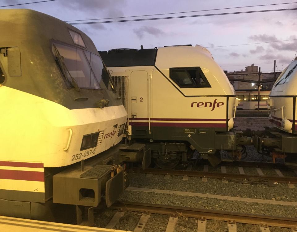 locomotives in alicante