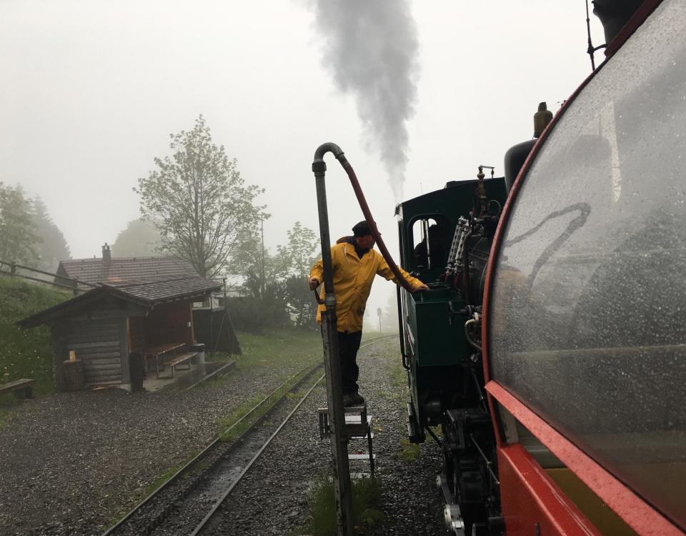 BRB in rain