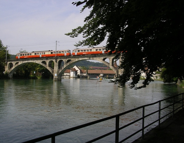 BDWM Reuss bridge Bremgarten