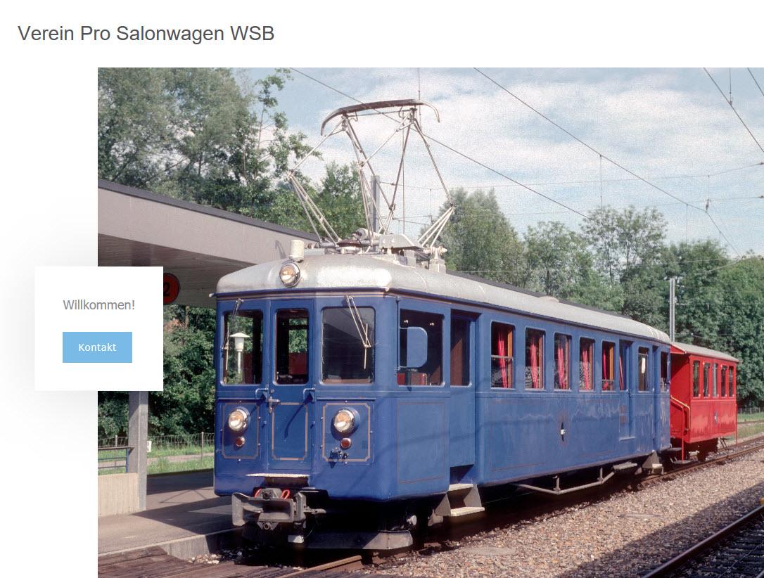 web page verein pro salonwagen wsb