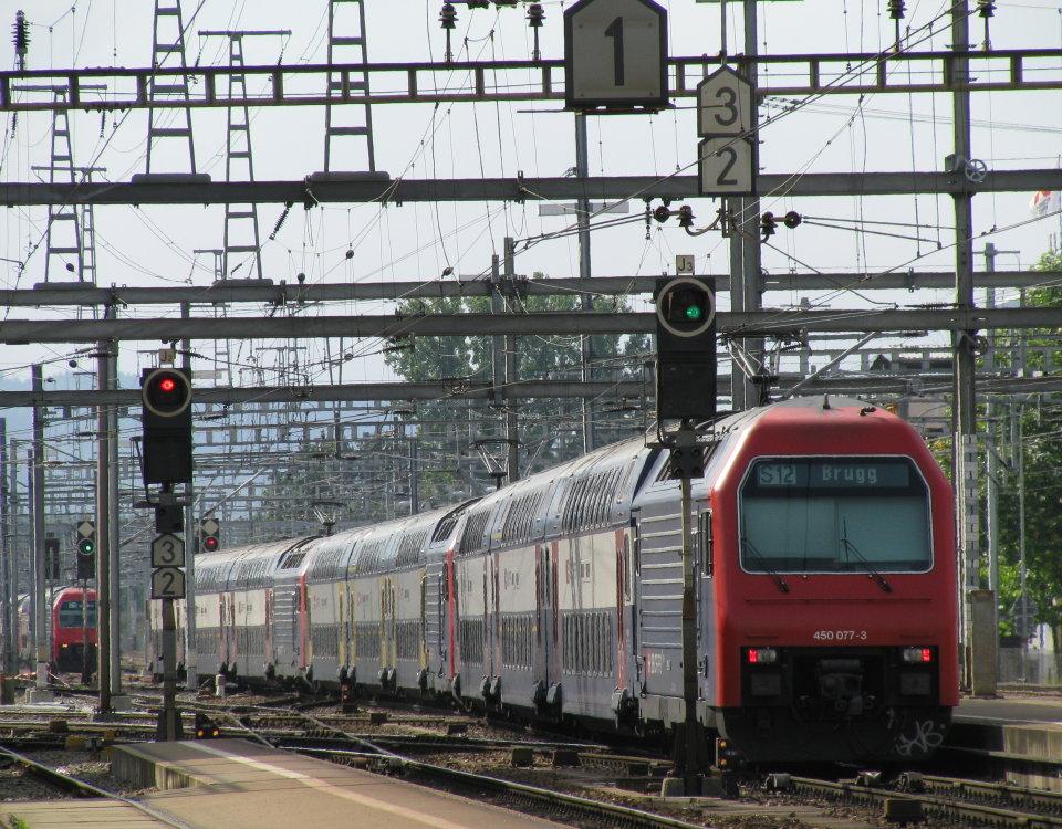 S-Bahn Zurich Altstetten