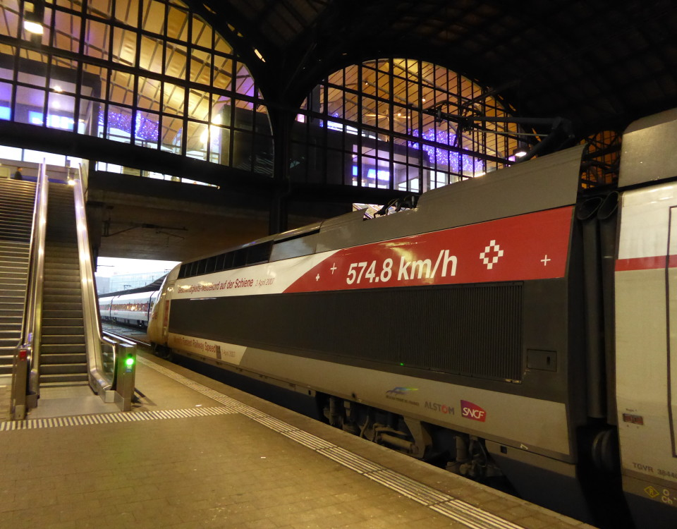 TGV in Basel SBB