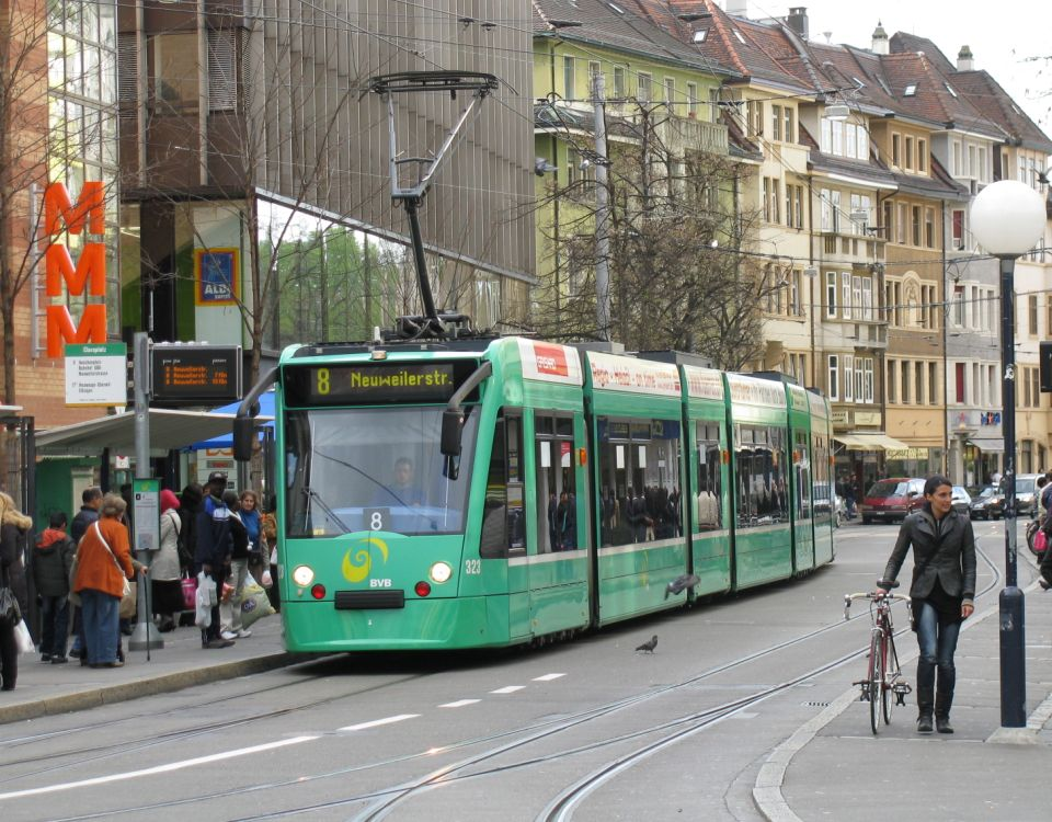 Basel Combino Clarastrasse