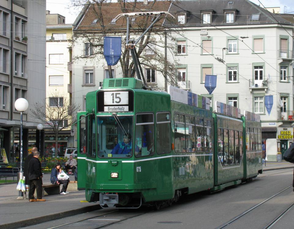 Be 4/6 tram Claraplatz