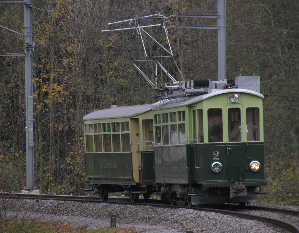 Uetliberg tram in 2008