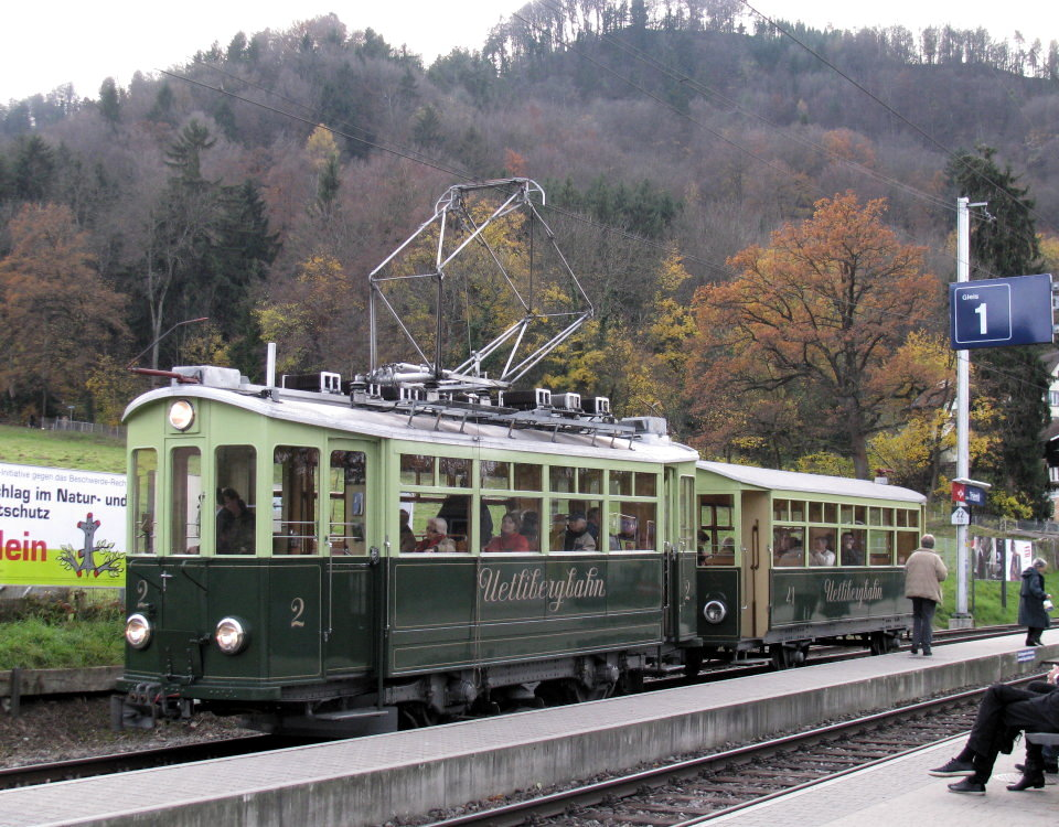 szu uetliberg heritage train