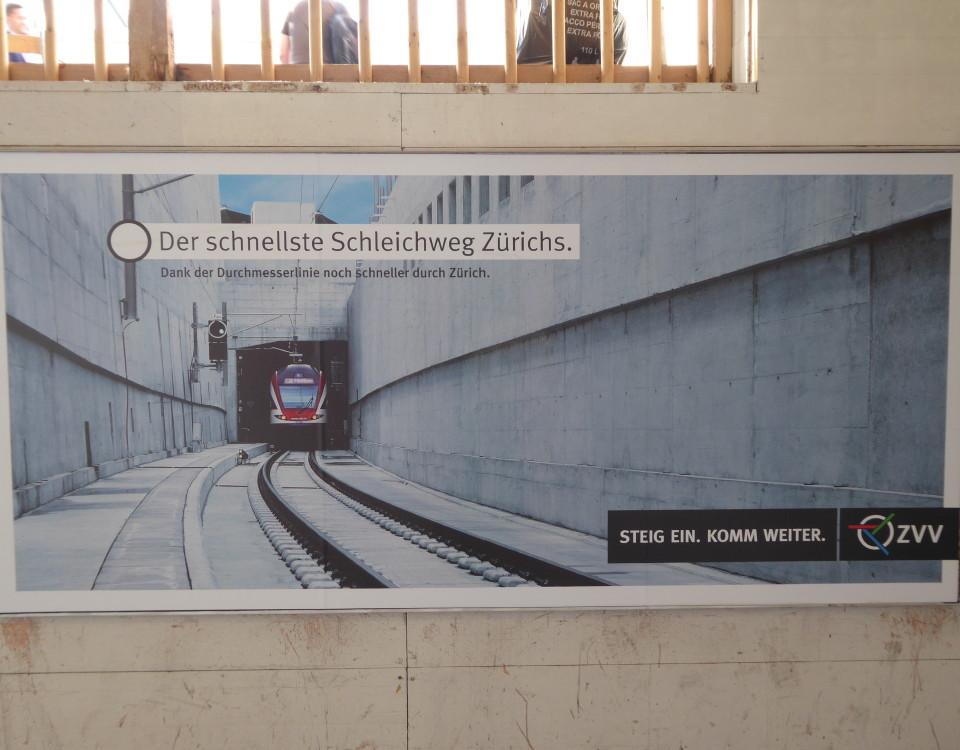 Durchmesserlinie poster Oerlikon