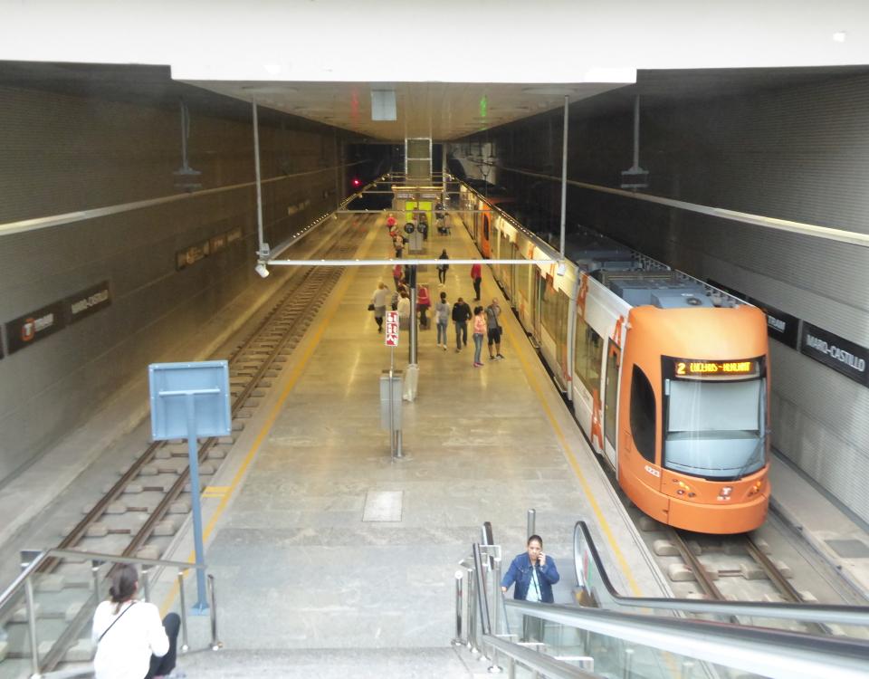 Alicante tram marq