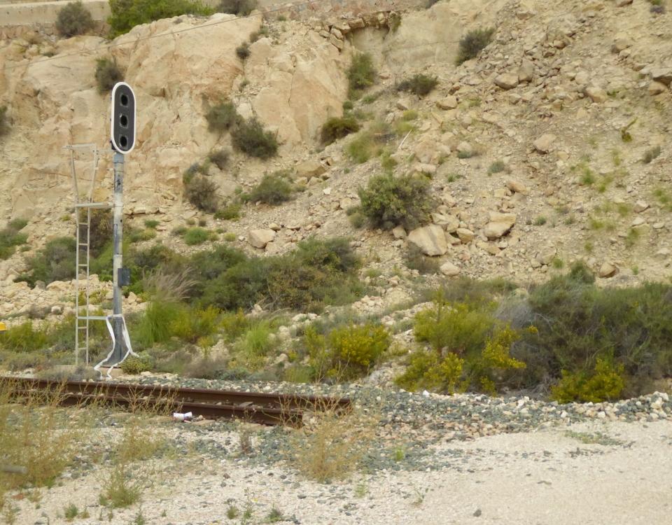 Alicante tram abandoned trenet