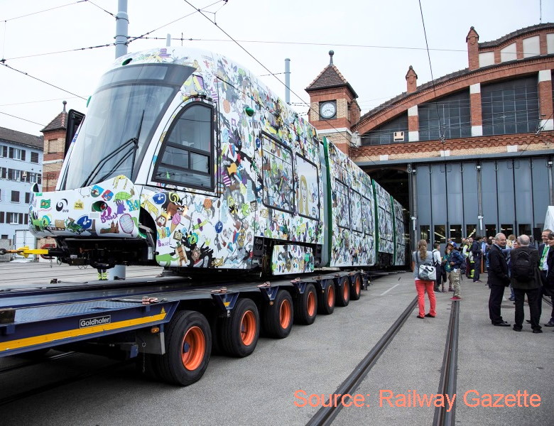 Basel BVB Flexity railway gazette
