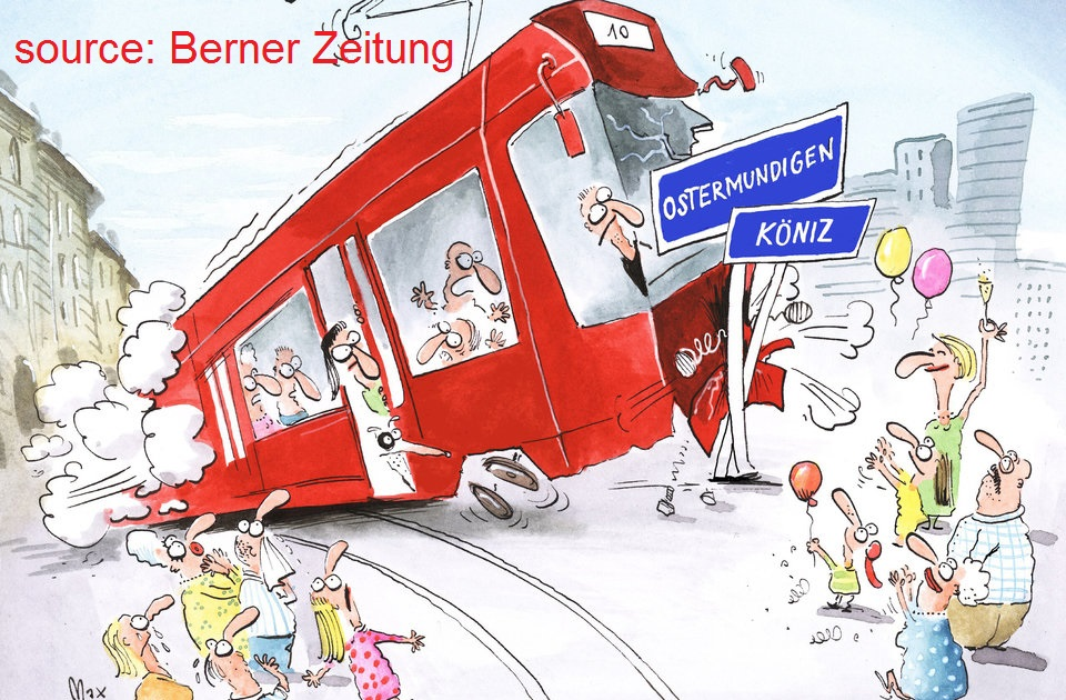 tram region bern cartoon