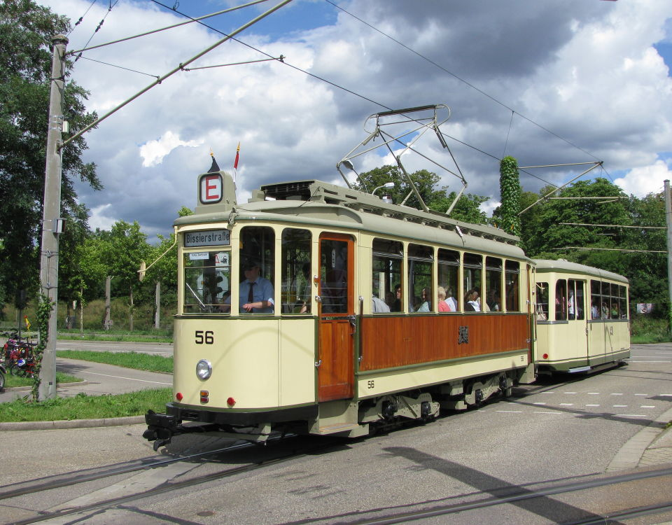 Freiburg tram 56