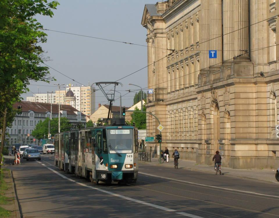 Potsdam tatra tram
