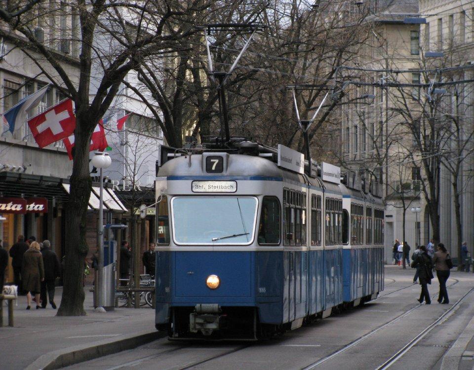 Mirage tram