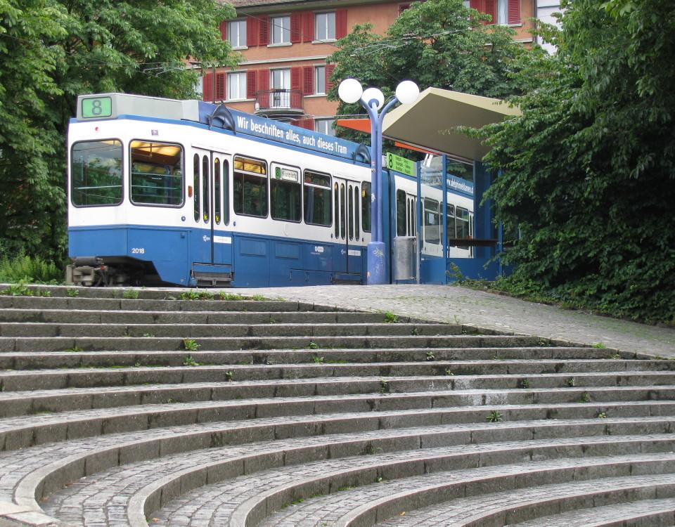 Tram Hardplatz