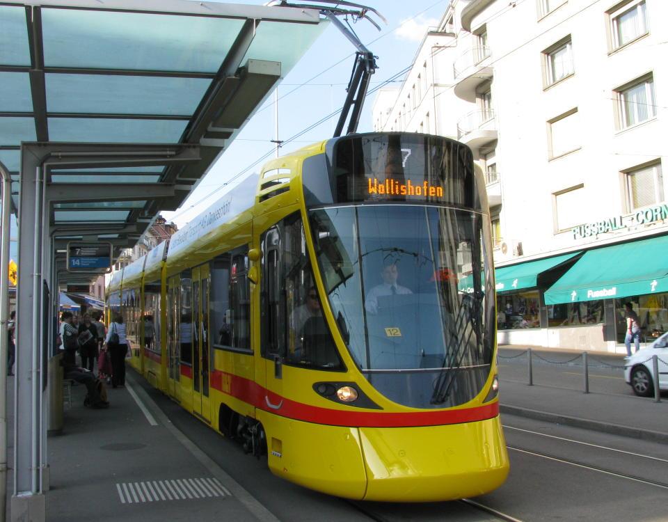 BLT Tango tram Schaffhauserplatz