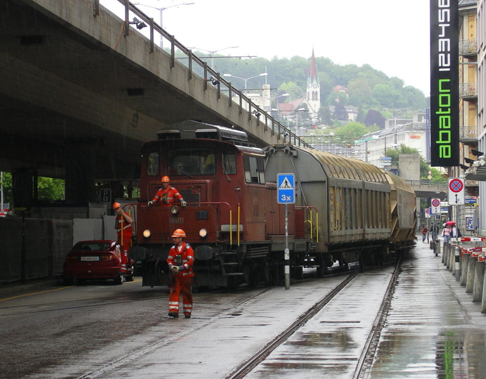Swissmill goods train