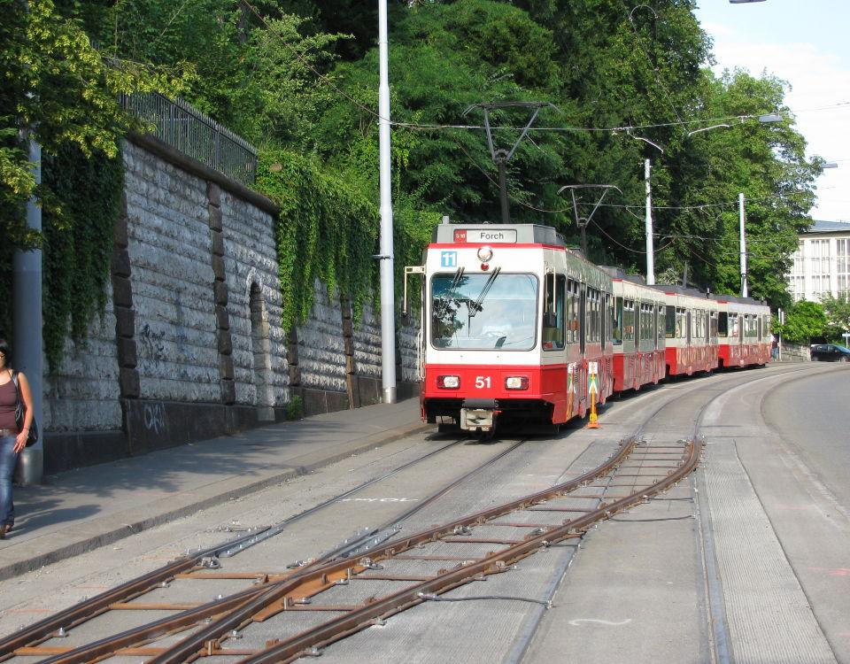 Forchbahn Kletterweiche