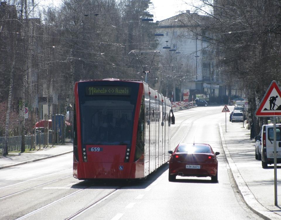 Bern Combino in Zürich