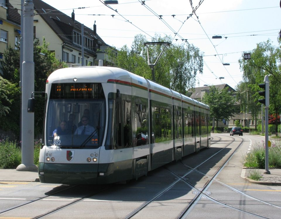 Augsburg Flexity in Zürich