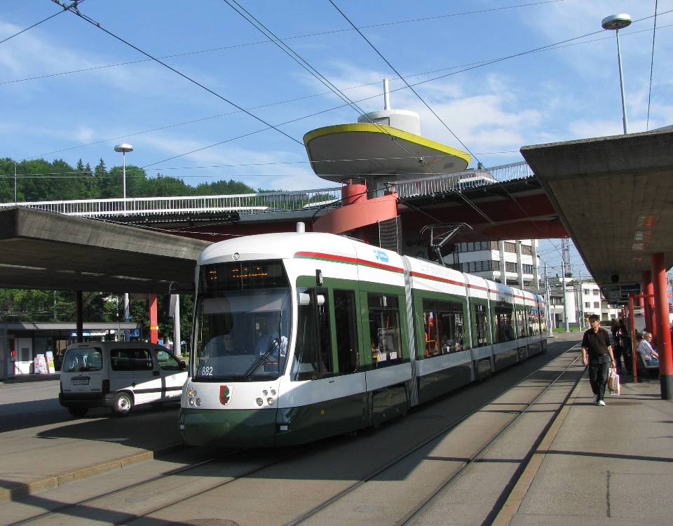 Augsburg Flexity in Zurich