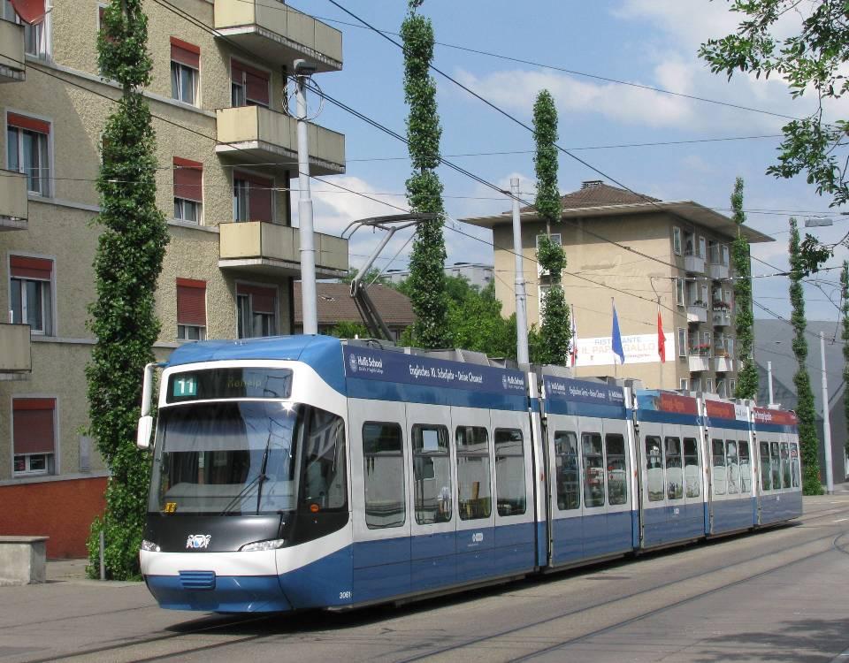 Cobra tram Oerlikon