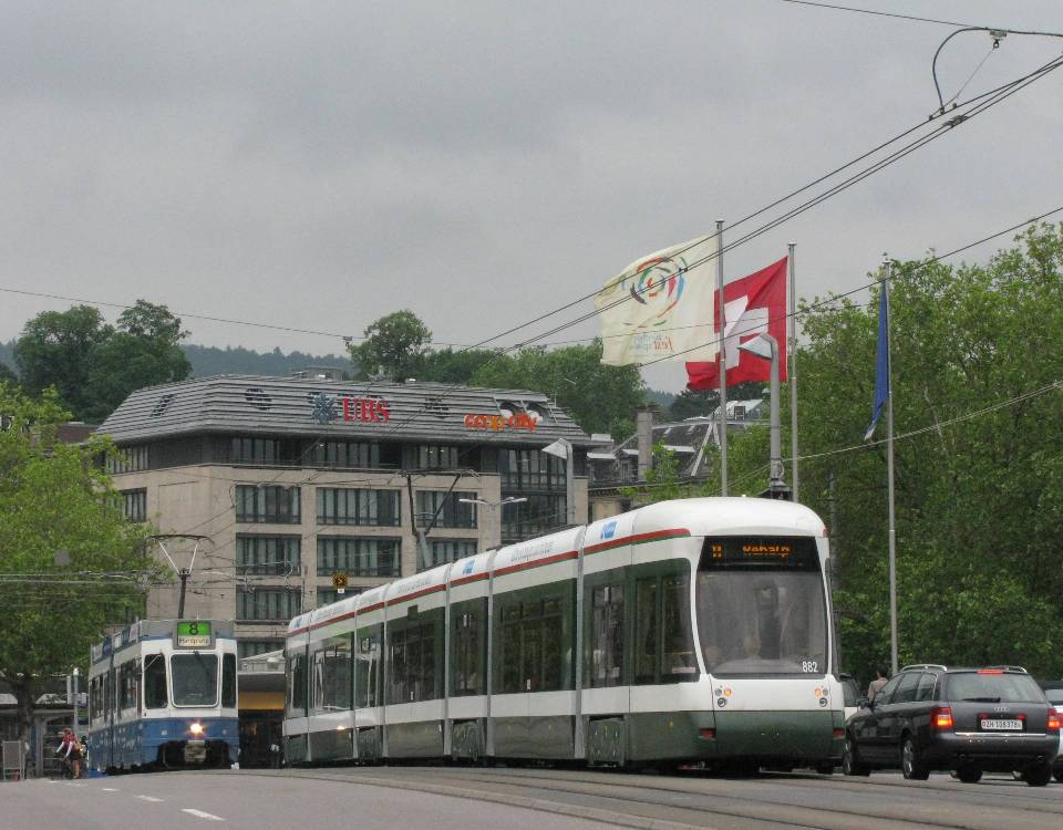 Augsburg Bombardier Flexity Zurich Quaibruecke