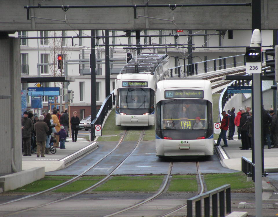 glattalbahn opening