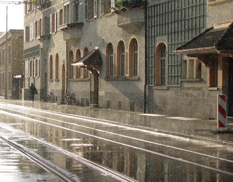 escher-wyss tram depot