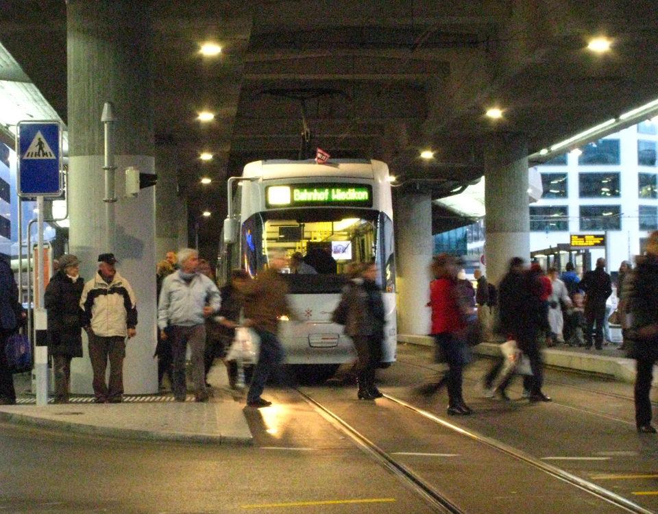 Tram Zurich West opening