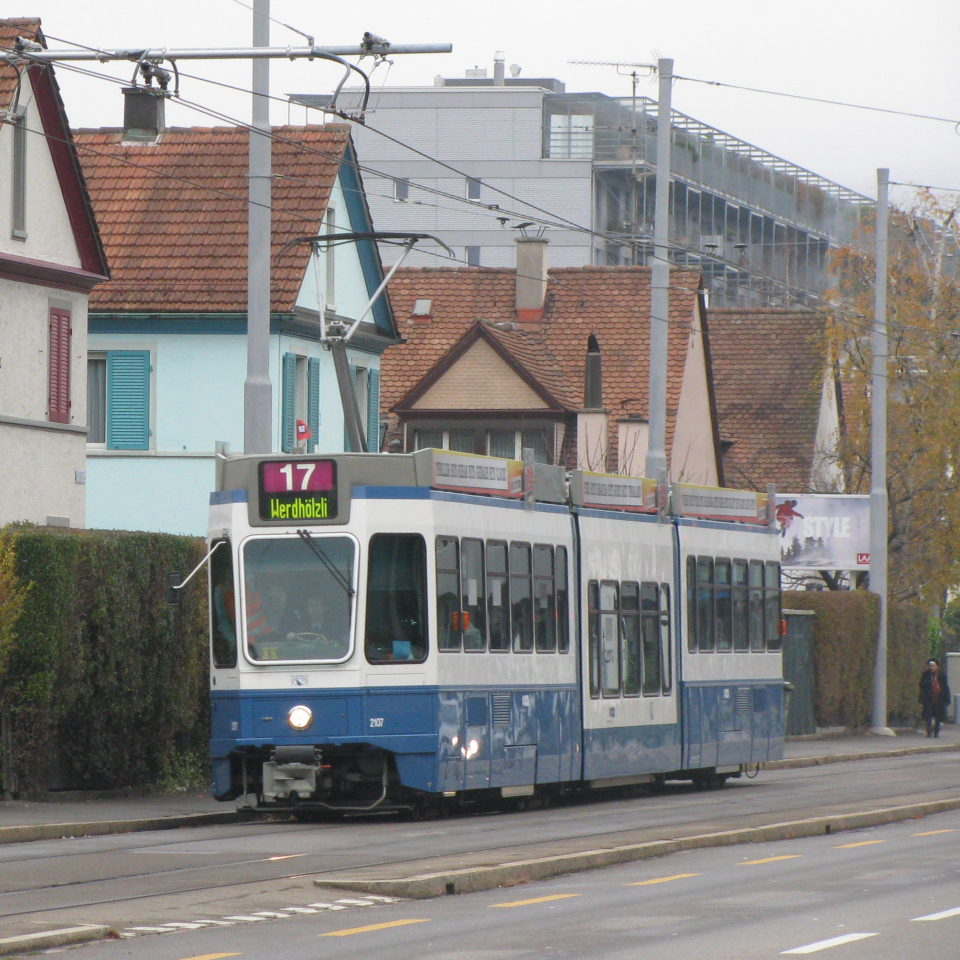 Tram Route 17 first day