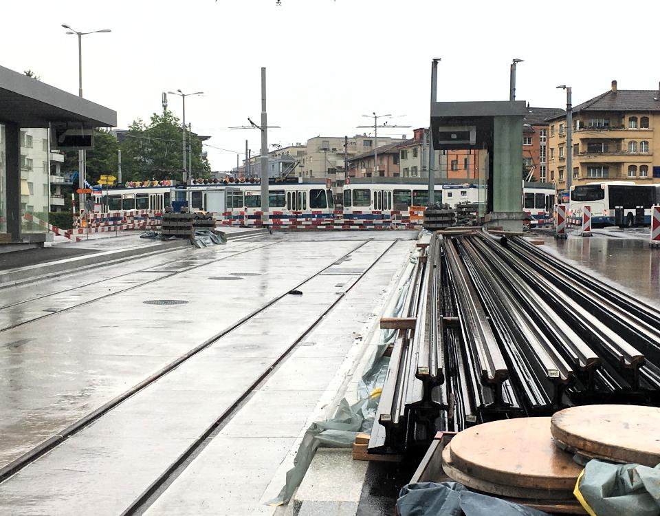 construction Limmattalbahn