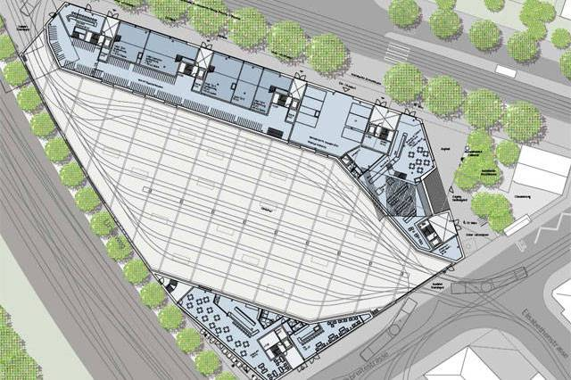 Kalkbreite tram depot project