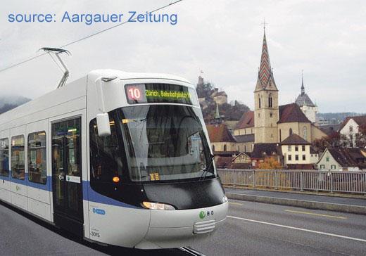 Glattalbahn Limmattalbahn Baden