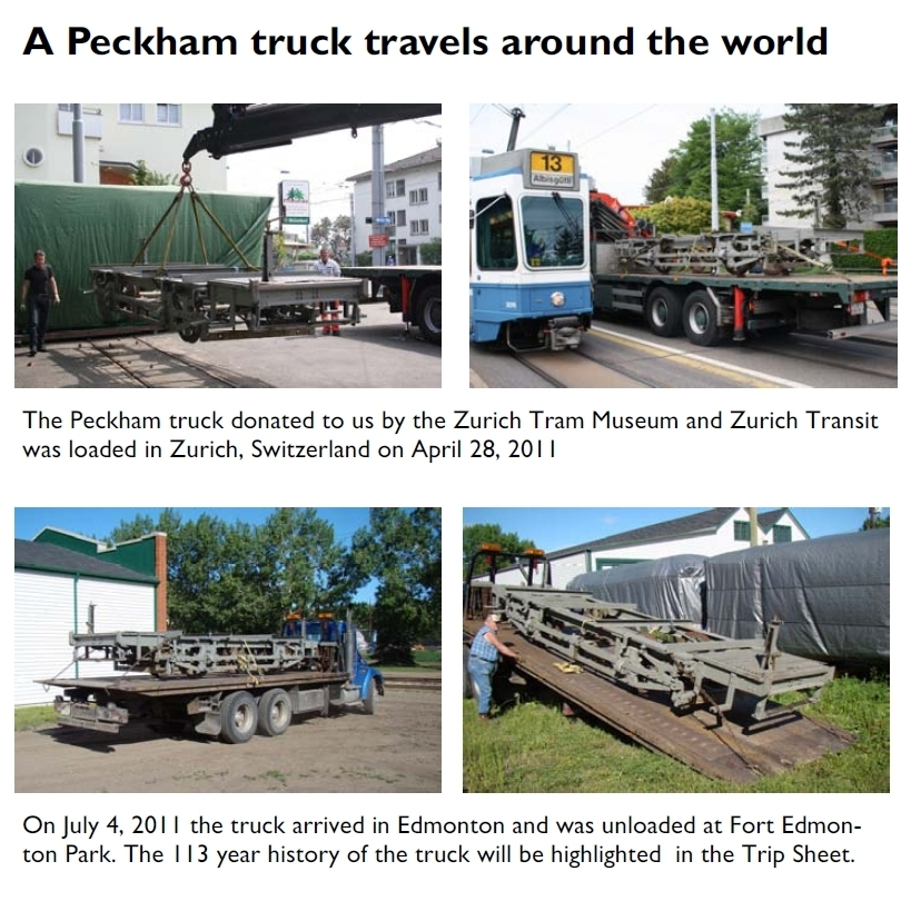 A Peckham truck travels around the world