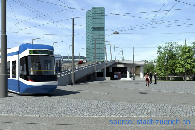 Tram Hardplatz impression