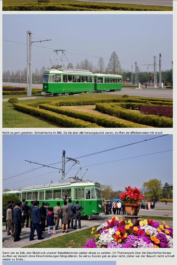 Trams in Pyongyang