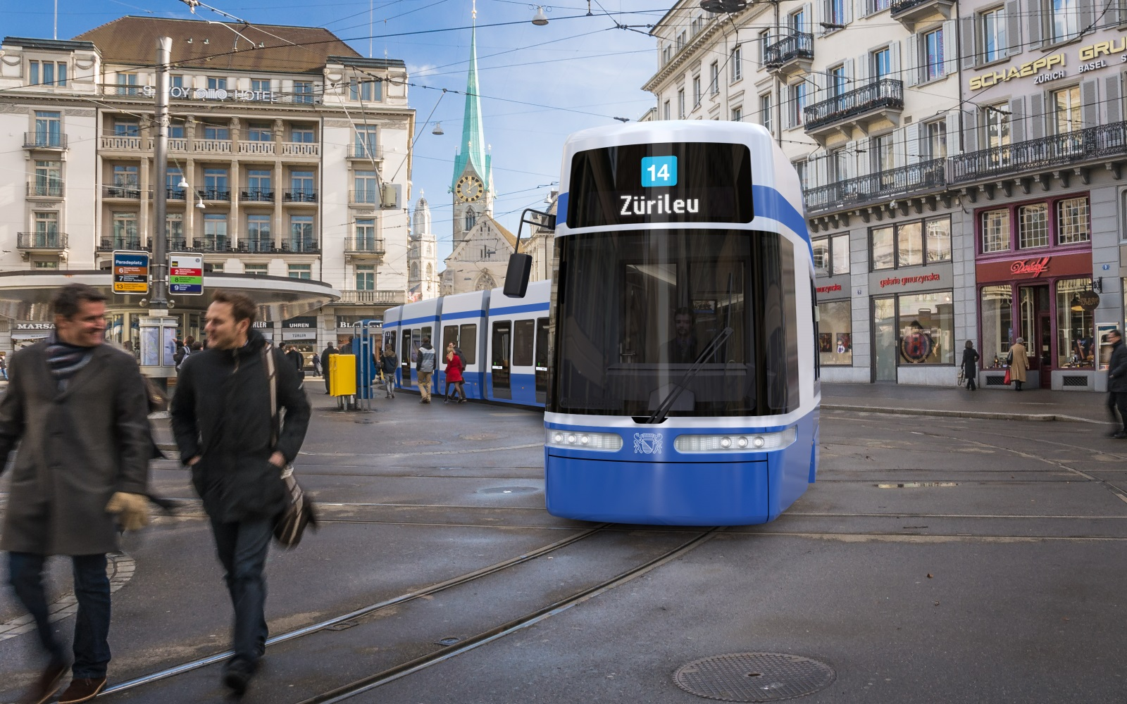 Bombardier flexity for Zurich