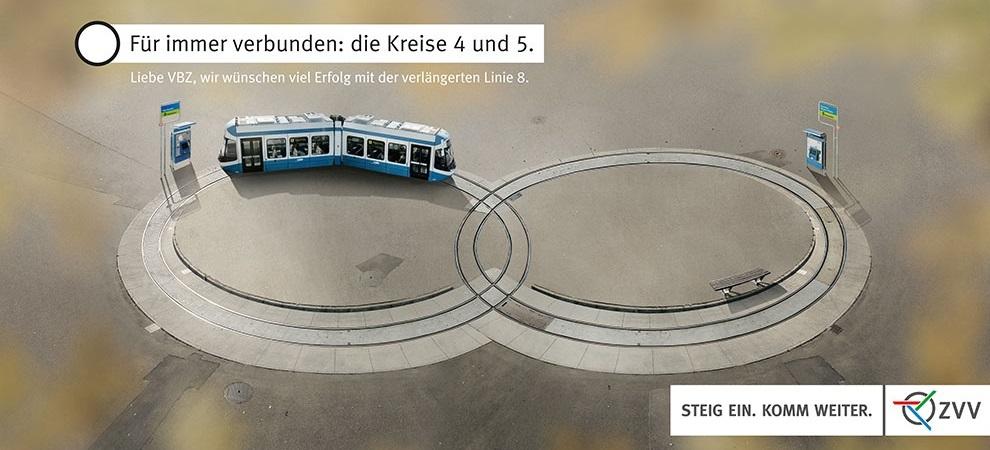 fuer immer verbunden tram hardbruecke