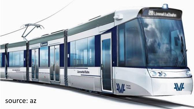 Limmattalbahn tram design