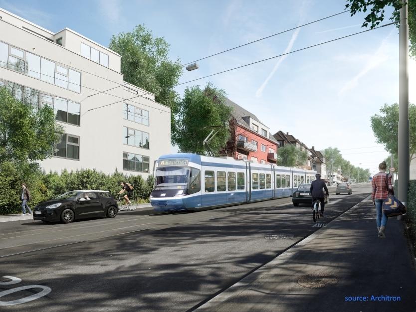 Rosengarten tunnel tram