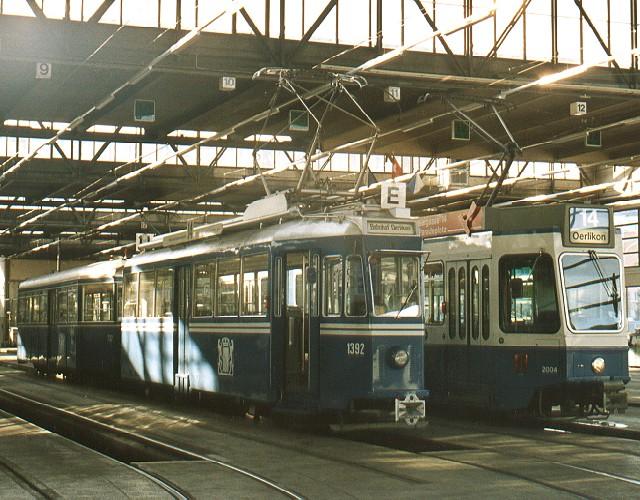 Oerlikon tram depot