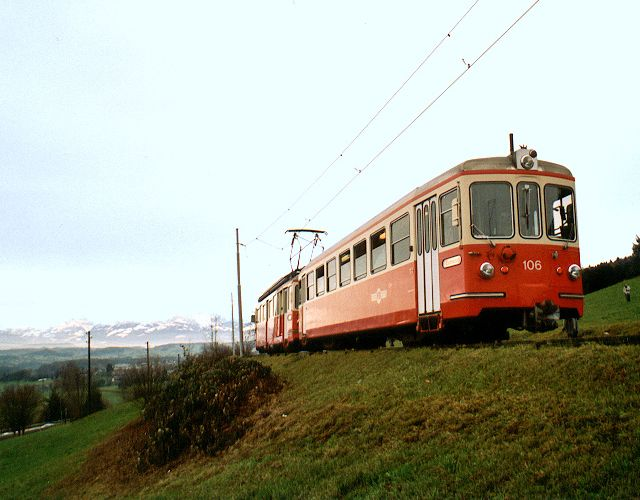 Forchbahn and alps
