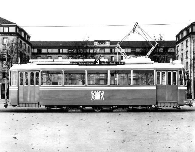 Geissbock tram