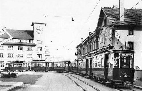 ZOS tram bahnhof oerlikon