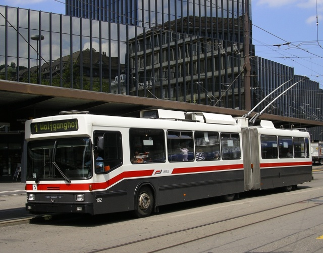 sankt gallen NAW trolleybus