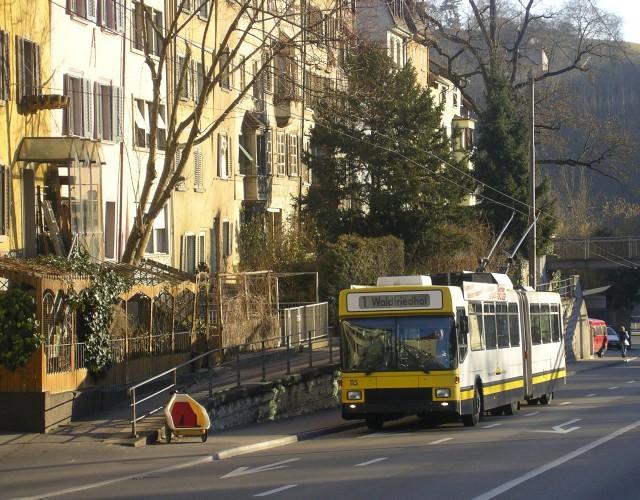 Schaffhausen trolleybus