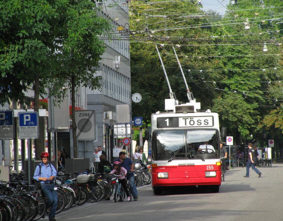 Winterthur GTZ trolleybus